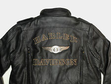 HARLEY DAVIDSON 110TH ANNIVERSARY DISTRESSED 97146-13VM LEATHER JACKET XL  276