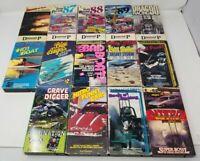 Lot of 14, NHRA Drag Racing, NASCAR, VHS Tapes, Diamond P Sports