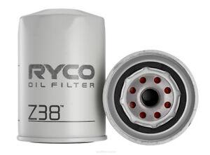 Oil Filter Ryco Z38 for LAND ROVER RANGE ROVER 2.4 TD 4X4 AWD DIESEL