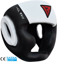 RDX Head Guard Helmet KickBoxing MMA MartialArt Gear Muay Thai Training Sparring