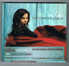 NOËMI WAYSFELD & BLIK - ALFAMA - LIVRE + CD 12 TITRES - 2015 - NEUF NEW NEU