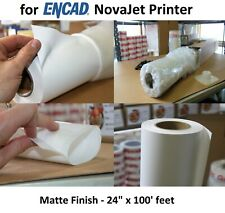 "Everyday Matte Poly Banner 24"" x 100' for ENCAD NovaJet Inkjet Printers"