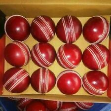 original plane 12 pce Red 156g Leather Cricket Ball/Exp.Shipping