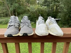 ultra boost size 11 uncaged refective and 4.0 grey