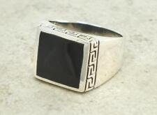 Anelli di bigiotteria in pietra principale onice Misura anello 9