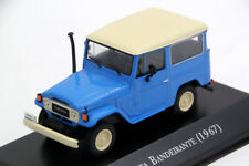 Toyota Bandeirante Land Cruiser FJ40 Rare Diecast Scale 1:43 New+Stnd From China
