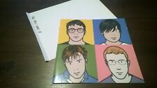CD Inlay & Booklet Blur The Best Of (No Case or CD)