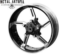 18x5.5 AGGRESSOR 180 FAT TIRE FRONT WHEEL for HARLEY DAVIDSON TOURING