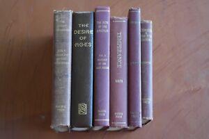 Lot 6 Ellen G White Books SDA Adventists Maroon Hardcover Vintage