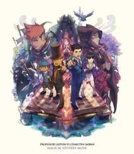 New Professor Layton vs Ace Attorney Original Soundtrack Japan Game Music 3 CD
