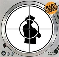 "Public Enemy Sniper Scope Slipmat Turntable 12"" LP Record Player, DJ Audiophile"