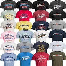 Jack & Jones Herren T-Shirt Rundhals Kurzarm mit Print Freizeit XS S M L XL XXL