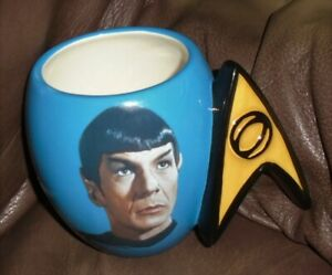Star Trek Spock Ceramic Coffee Mug Tea Cup Westland Giftware 2011
