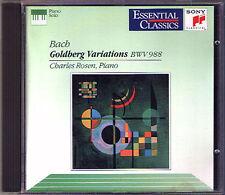 Charles Roses: Bach Goldberg Variations Bwv 988 CD 1967 variations Sony