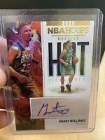 2019-20 NBA Hoops Rookie Hot Signatures Grant Williams Auto RC ! Mint !!!