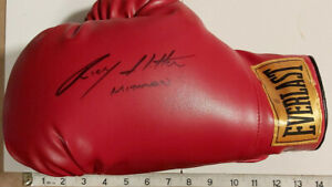 "RICKY ""THE HITMAN"" HATTON SIGNED EVERLAST GLOVE IN PERSON  WITH COA"