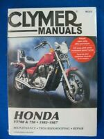 1983 1984 1985 1986 1987 Clymer Honda VT700C VT750C Shadow Service Manual New