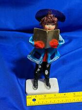 "Woolworth's Xmas Caroleers Japan 9"" Figure Doll Girl RARE Sheet Music #2"