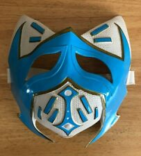 WRESTLING MASK BLUE WHITE GOLD SIN CARA