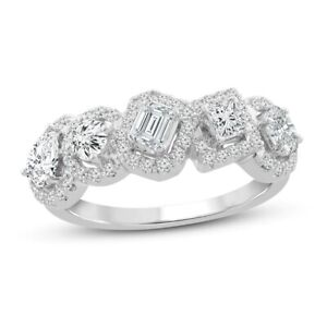 Everything You Are 3CT Multi-Shape Diamond Ring With Solid 925 Sterling Silver