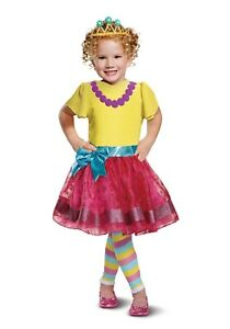 Disguise Toddler Girl's Disney Fancy Nancy Deluxe Costume Dress Up Sz. 3T-4T NWT