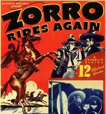 Zorro Rides Again 1937 12 Chapter Republic Movie Serial Cliffhanger 2 x DVD