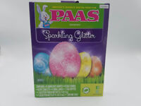 New Lot of 5 PAAS Easter Egg Decorating Kit Sparkling Glitter
