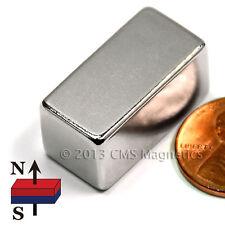 "Neodymium Magnets N45 1""x1/2""x1/2"" Rectangular Rare Earth Magnets 4 PC"