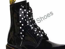 Shoelaces Boot Laces with Logo Aglets for DM Boots 65 120 142 155cm Length Laces