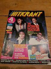 HITKRANT week15 '85 Dutch Music magazine, Duran Madonna Jagger Moyet Nijs Prince