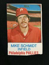 1975 MIKE SCHMIDT ODD BALL BOX CUT OUT PHILLIES BASEBALL CARD