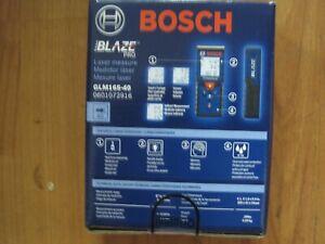 BOSCH Blaze Pro GLM165-40 LASER MEASURE (PS5001295) NEW + Free Shipping