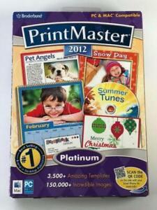 Print Master 2012 PC & Mac compatible LB5