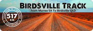 Birdsville Track Version 1 Bumper Sticker