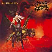 "OZZY OSBOURNE ""The Ultimate Sin"" Album Cover Art poster 12x12"