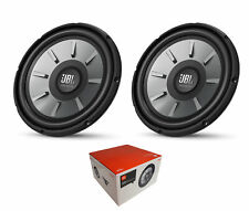 """Pair of JBL 2000 Watts 4 Ohm 12"""" Component Subwoofer - STAGE 1210"""