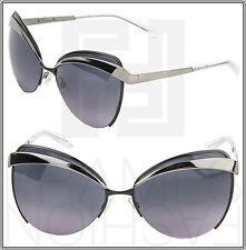7a4ca850fa27 CHRISTIAN DIOR EYES 1 Gunmetal Dark Blue Cat Eye Sunglasses DiorEyes1 Women