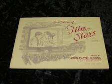 JOHN PLAYER CIGARETTE CARDS EMPTY UNUSED ALBUM Film Stars 3rd Series 1938