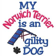 My Norwich Terrier is An Agility Dog Short-Sleeved Tee - Dc1966L