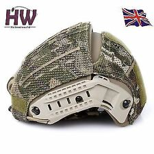 AIRSOFT AF AIRFRAME HELMET COVER MC MULTICAM MTP CRYE STYLE MOLLE UK