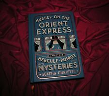 MURDER ON THE ORIENT EXPRESS By Agatha Christie ~ New Leather Bound Collector Ed