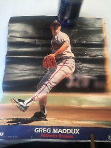 OLD VINTAGE 1994 Greg Maddux Atlanta Braves Original PHOTO FILE Poster