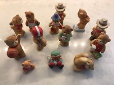 Enesco lucy and me bears Lot Of 13!
