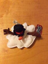 Meanies Shocking Stuffers SLUSHY THE SNOWMAN Bean Bag Plush Toy Doll T1