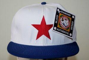 NEW Detroit Stars 1920 Replica Negro League White Blue Cap Hat Size 7
