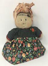 "Ooak Vintage 1994 Little Souls Sock Doll ""Bobita"" Hand Made in Lonesti, Romania"