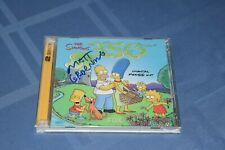 Matt Groening Signed Autographed The Simpsons 350 Digital Press Kit 2 Disk Set