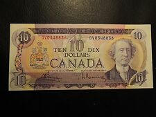1971 BANK OF CANADA $10 TEN DOLLARS BOUEY RASMINSKY DV 0348836 BC-49b