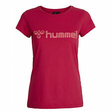 T-shirt da Donna Hummel Classic Bee SS Tee Rosso Rosa - Virtual Pink L