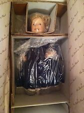 "Danbury Mint ""The Littlest Rebel"" Shirley Temple Movie Classics 10"" Doll w/ Box"